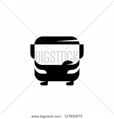 Bus logo on a white background - stock vector