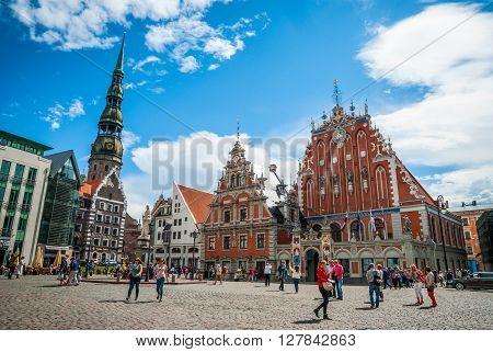 Riga City Hall, Latvia