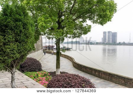 Park In Changde Poetry Wall