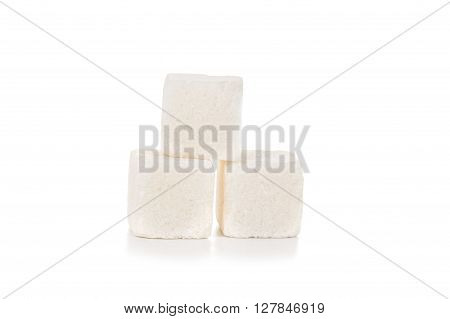 Pieces Of White Sugar