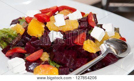 Restaurant buffet photo fresh food beuty shot