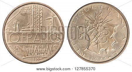 French 10 Francs
