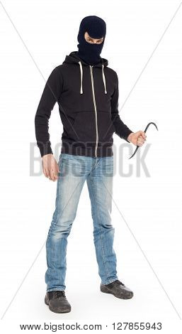 Thief With Metal Crowbar