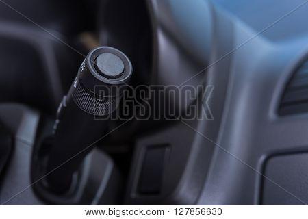 Car Interior Wipers Control Stalk