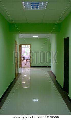 Corridor In A Hall