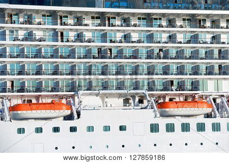 Board Of Luxury Cruise Ship