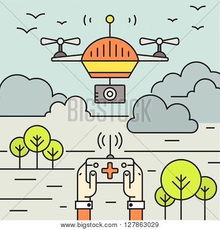Drone Flyer Concept