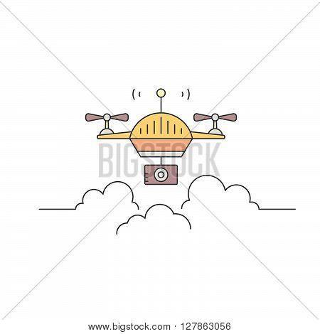 Drone Logo Concept