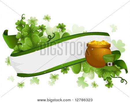 St Patrick Ribbon - Vector