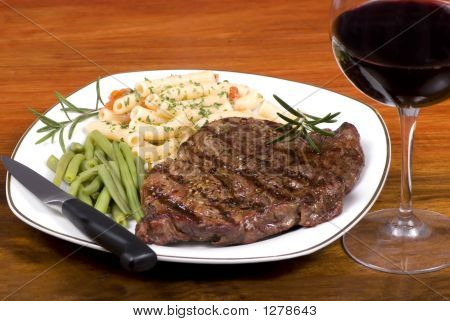 Rib-Eye-Steak-Dinner 1