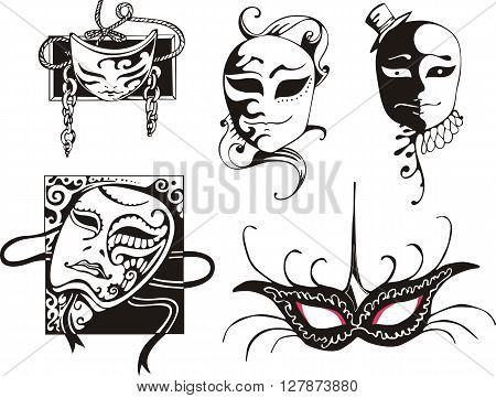 Carnival Masks Set