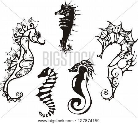 Sea Horses Set