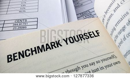Benchmark Yourself Word On The Book