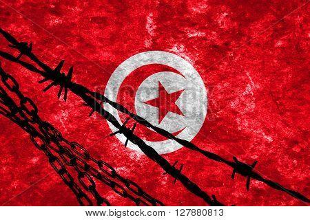 Tunesia flag