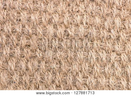 Fabric Texture Close Up of Woven Rope Texture Pattern Background