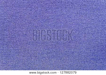 Fabric Texture Close Up of Blue Canvas Fabric Texture Pattern Background.