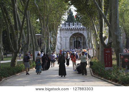 The Gate Of Salutation Topkapi Palace