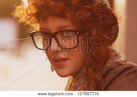 Portrait Of Trendy Young Chick