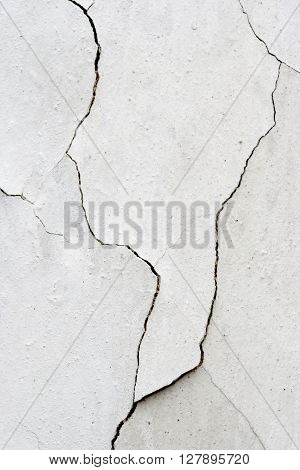 Texture of the old and damaged stucco - plaster