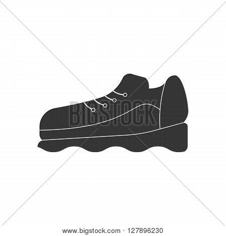 Sneakers shoes icon. Sneakers vector illustration. Shoes icon. Vector illustration