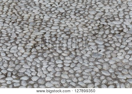 Round Stones In The Ground