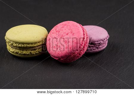 Tasty Colorful Macaroons