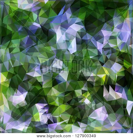 Vector modern abstract polygonal background with design