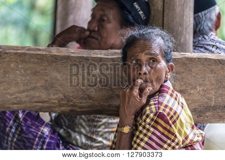 Portrait Of Toraja People, Sulawesi, Indonesia