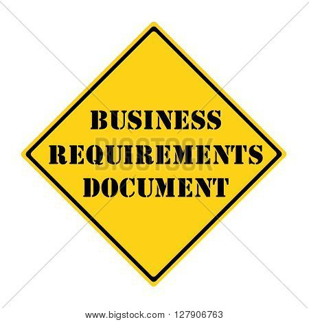Business Requirements Document Sign