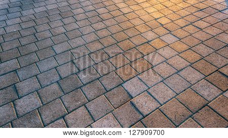 Stone sidewalk close up outdoors background photo