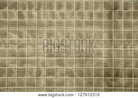 Abstract background with squares. Background with soundproof wall by the roadside.