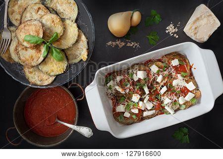 Prepare Eggplant Parmigiana