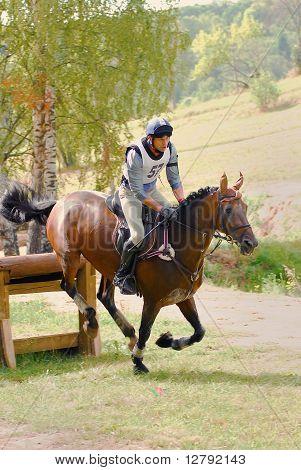Triatlo na Rússia, cavalo de salto