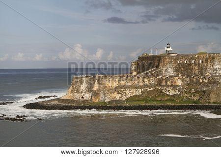 Fort Catillo San Felipe Del Morro in San Juan Puerto Rico