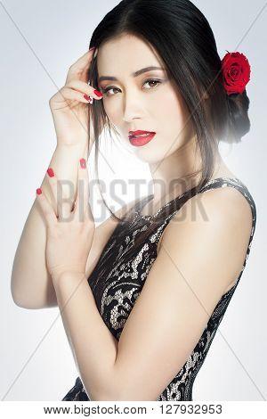 Dramatic Romantic Asian Beauty