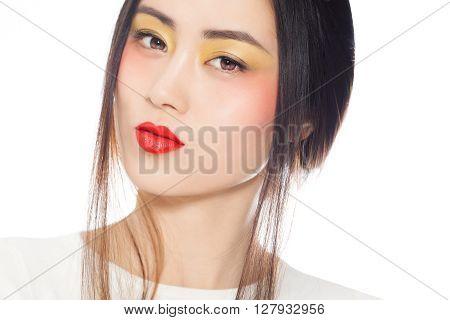 Colorful Asian Makeup