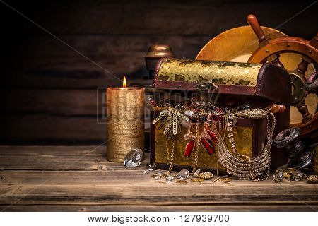 Composition Of Treasure Chest