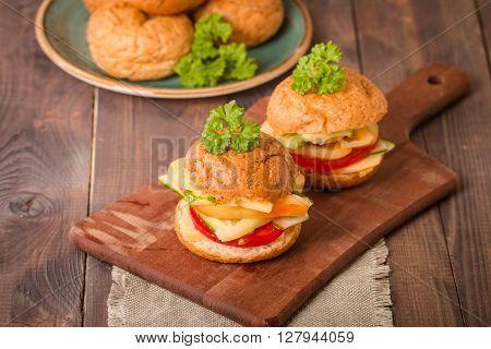 Vegan Bran Burger