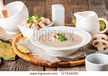 Mushroom Cream Soup
