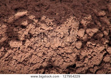 image of many milled coffee grounds at day