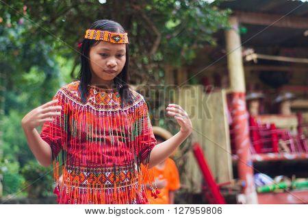 Dancing Girl In Costume