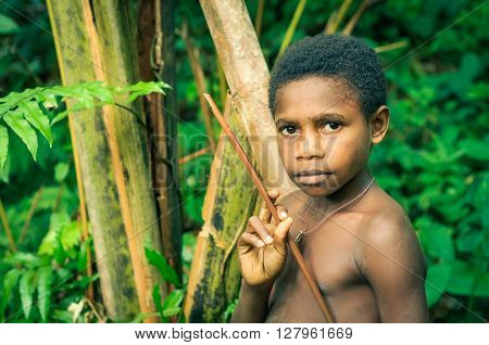 Boy And Forest