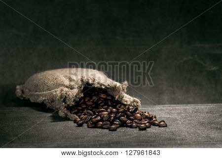 Coffeebeans In Canvas