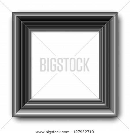 Black picture frame or border for photo or painting