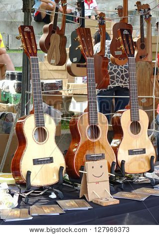 Selling Guitars And Other String Instruments