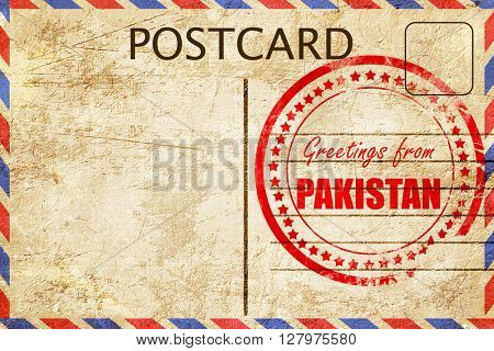 Greetings from pakistan
