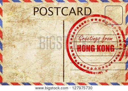Greetings from hong kong