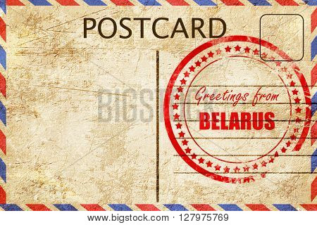 Greetings from belarus