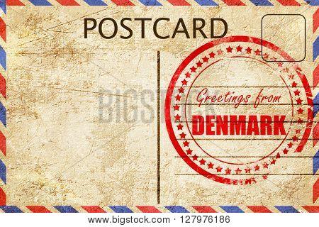 Greetings from denmark