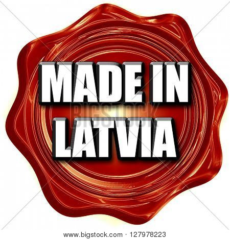 Made in latvia